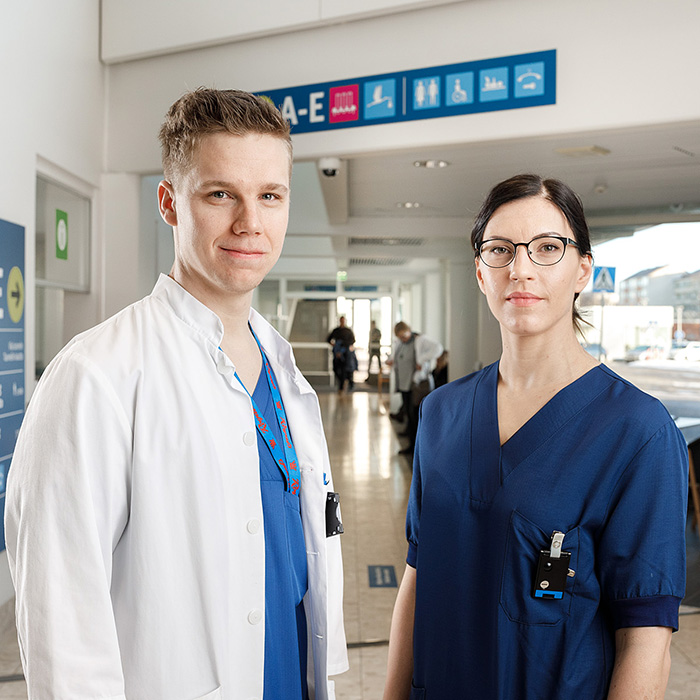 Lääkäri ja hoitaja